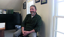 Thumbnail of Todd Koel in his office in Yellowstone National Park.