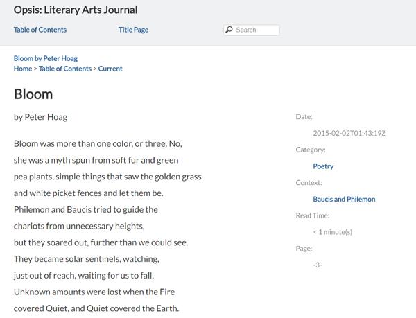 screenshot of book in browser