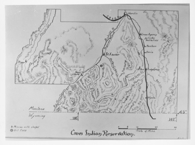 Crow Reservation Montana Map.Crow Absorkee Apsaalooka Crow Reservation Montana Indian Peoples