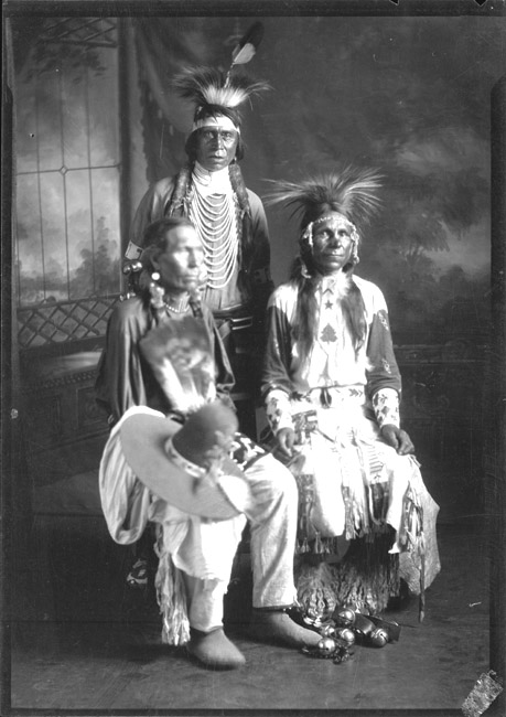 Bad Hat, Spreadwinged, Chippewa/Cree, Rocky Boy Reservation