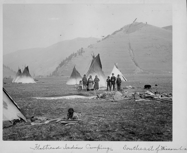 Native american reservations 1800s