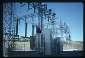 Fort Peck Dam electrical transformer