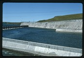 Fort Peck outflow from powerhouse 2