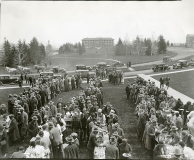 Stock Growers Convention Barbecue Lunch, 1931