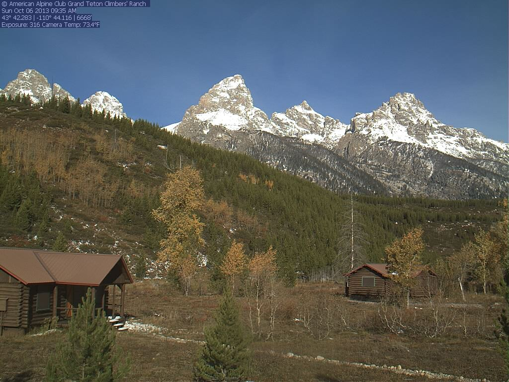 Grand Teton National Park Climbers Ranch Image From