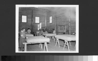 Arapaho Women's Mattress Making Industry